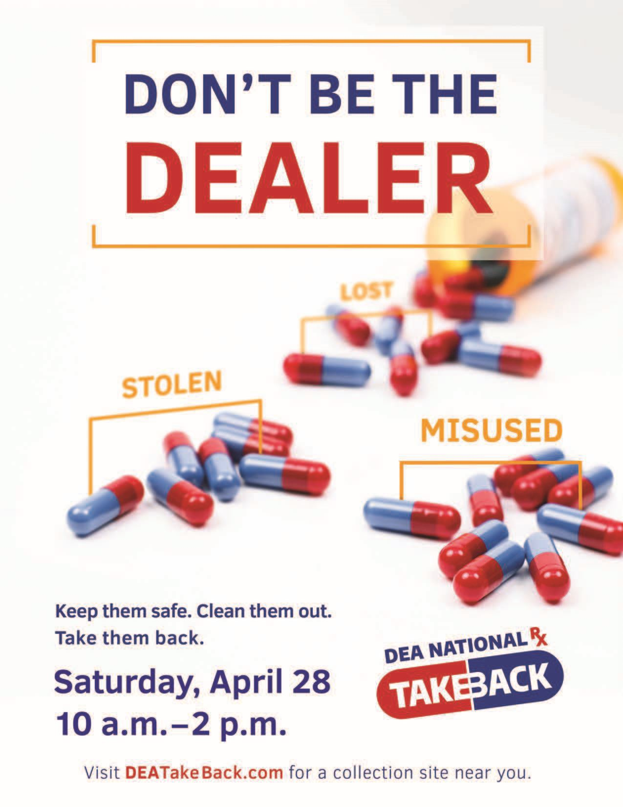 2018 DEA Drug Take Back Sign (1)