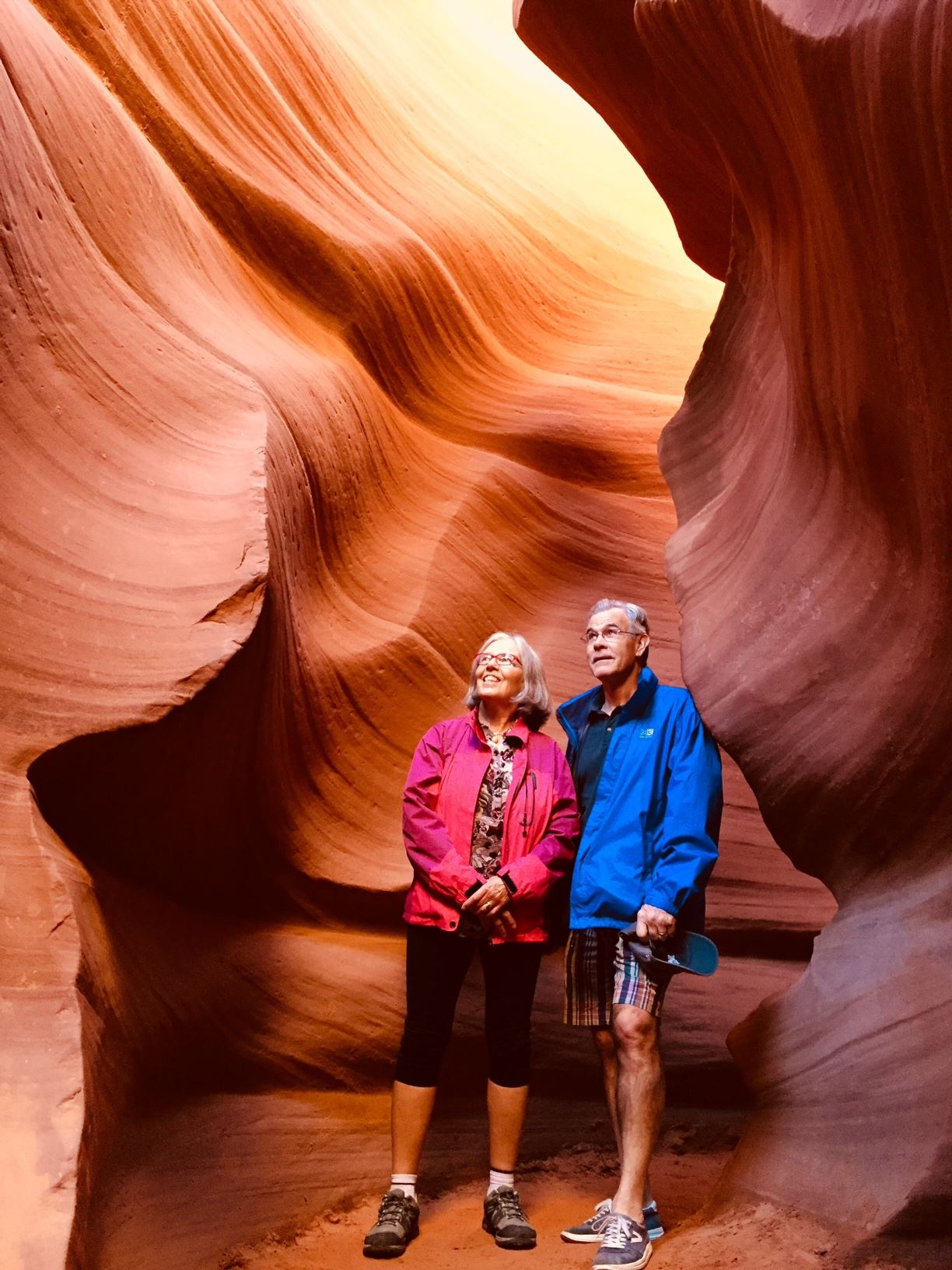 joyce and john wiebe in Utah