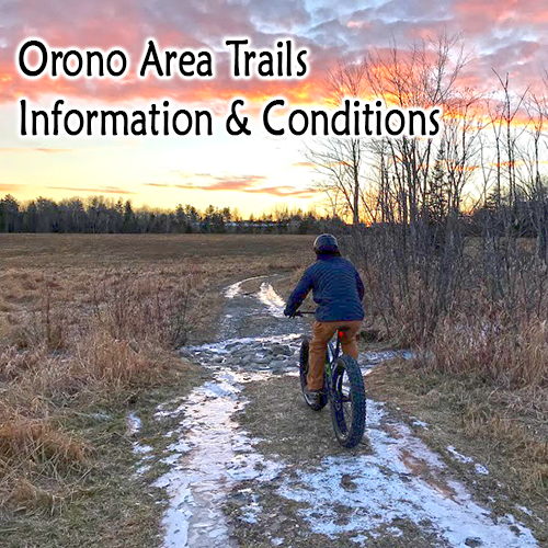 Link to Orono Land Trust site for trails information and conditions