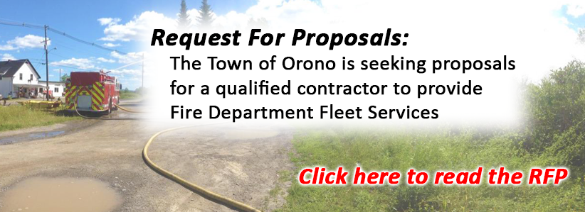 Link to Request for Proposals for Fire Dept Fleet Services