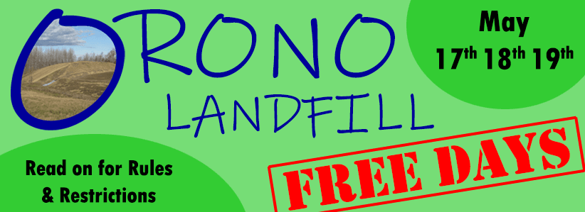 landfill days may 17-19
