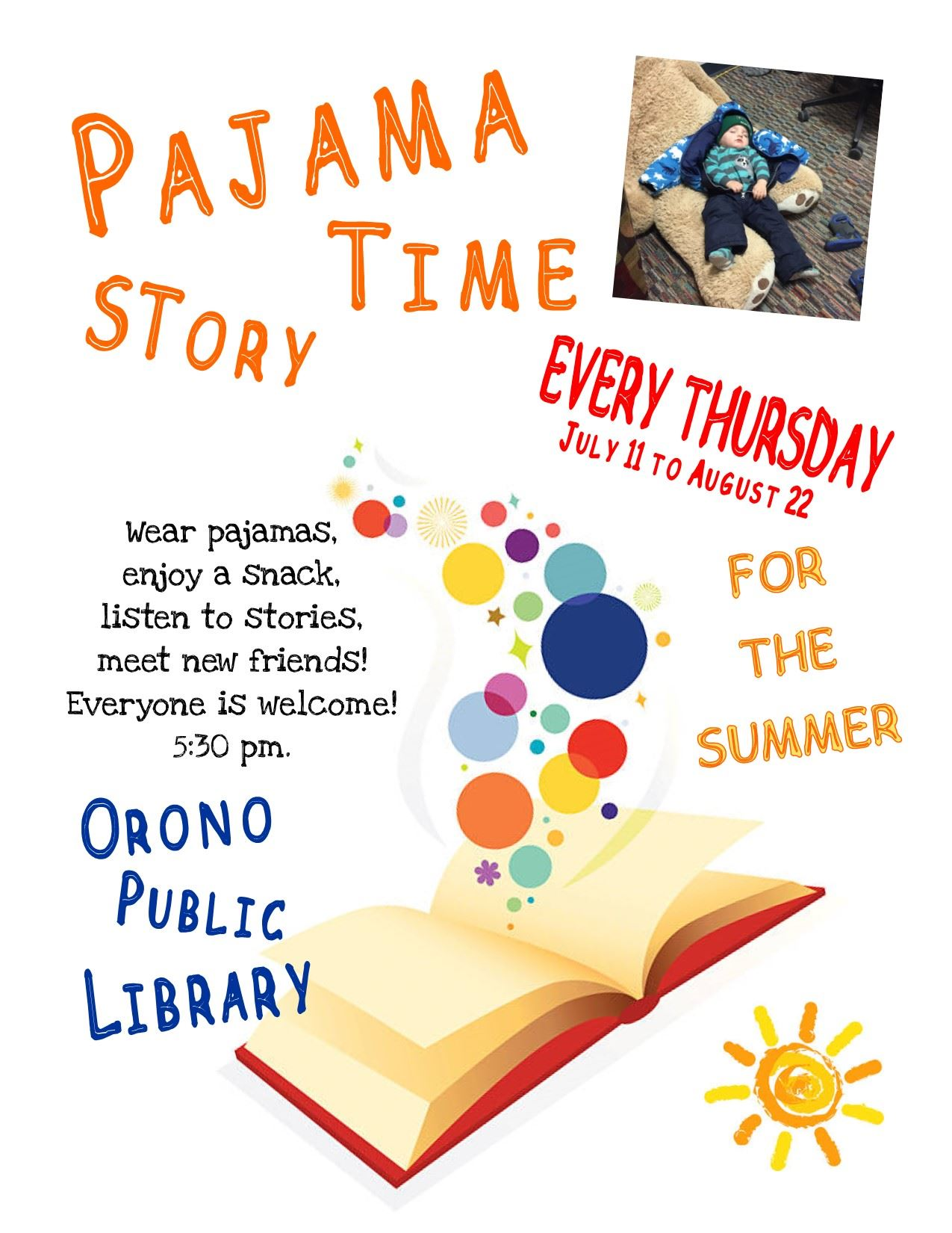 PajamaStorytime Summer 2019