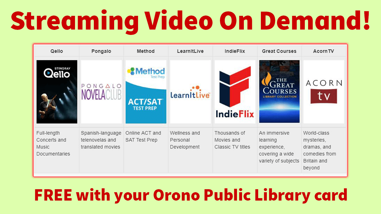 streaming video on demand - click for more info