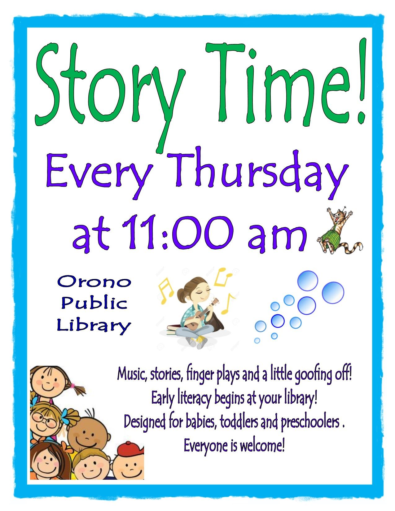 Thursday Story Times 2019