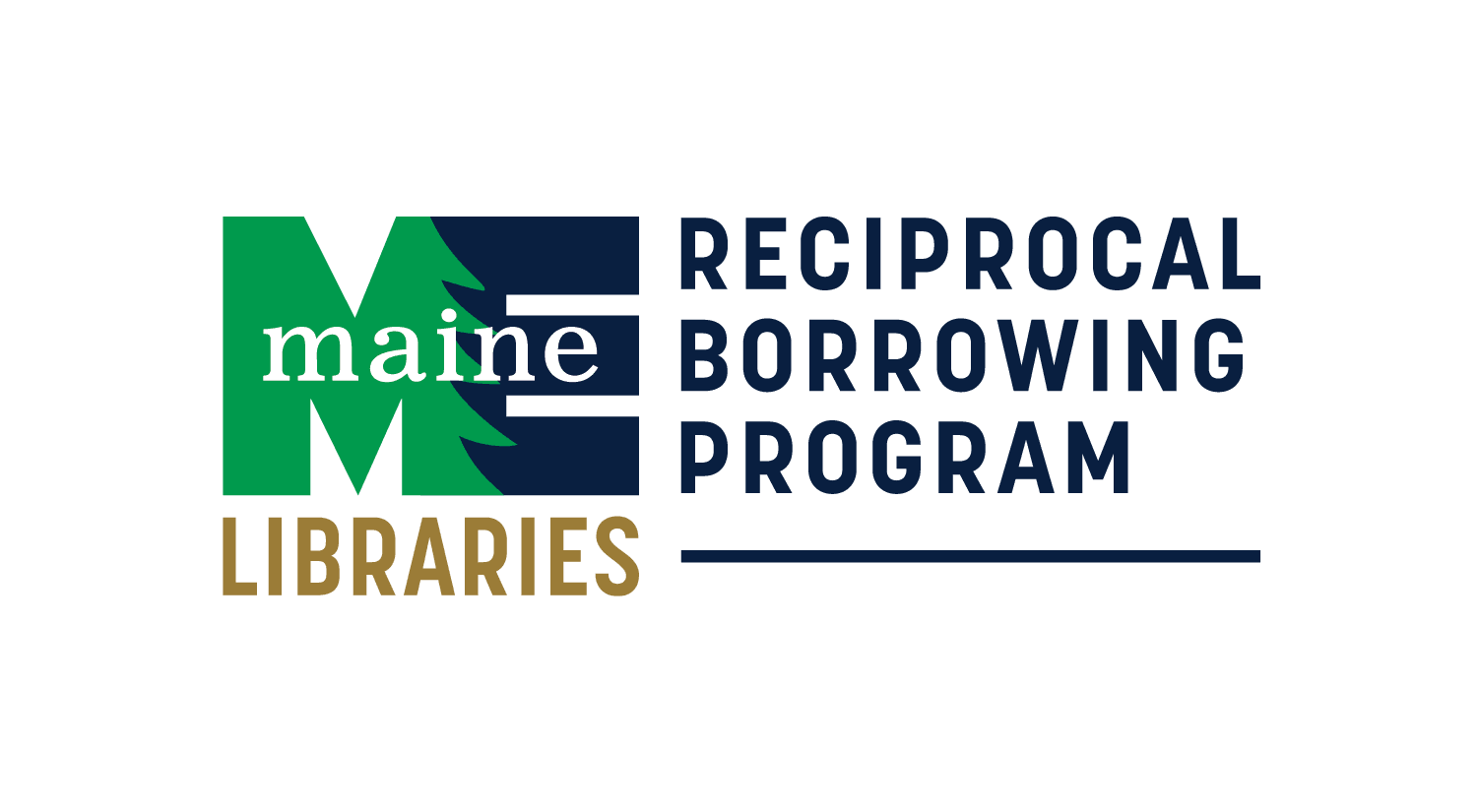 Maine Reciprocal Borrowing Program logo