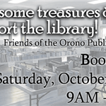 fopl book sale 10/26 at 9am - 2pm