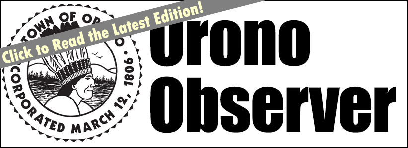 click to read the latest orono observer