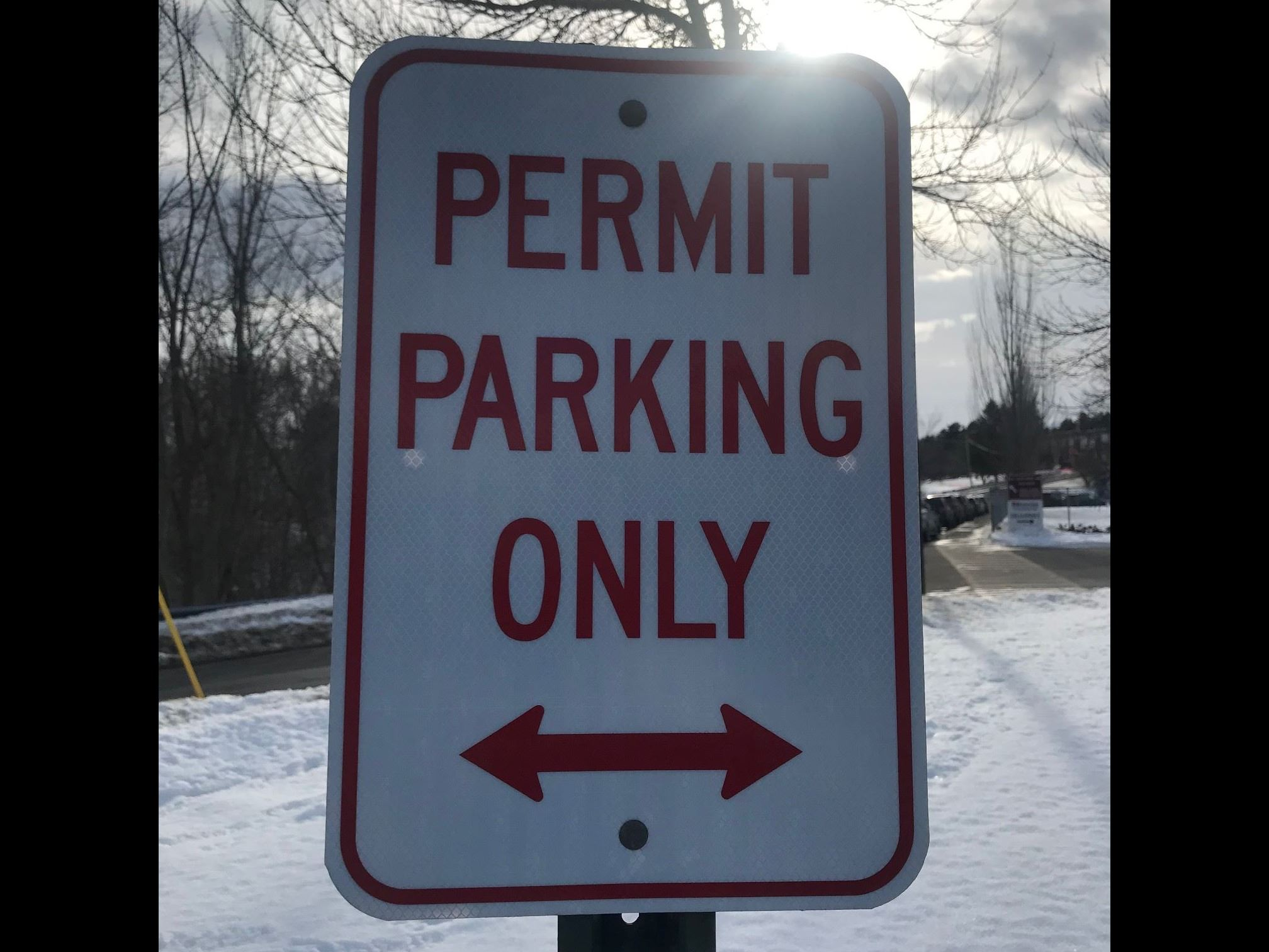 Permit Parking Only