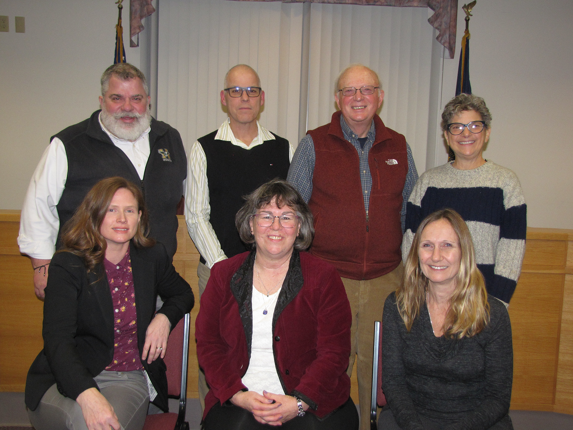 Group photo of 2020 Orono Town Council